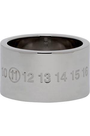 Maison Margiela Silver Chunky Numbers Ring