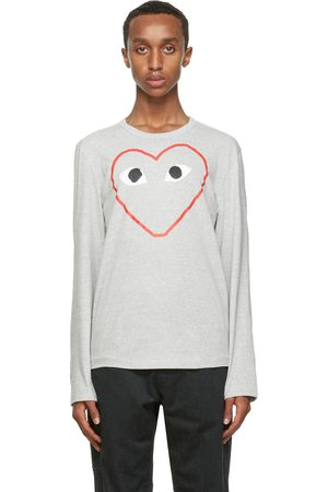 Comme des Garçons Big Heart Long Sleeve T-Shirt