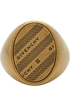 Givenchy Gold Chain Chevalier Ring