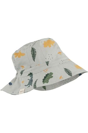Liewood Hatte - Sommerhat - Dino Dove Blue Mix