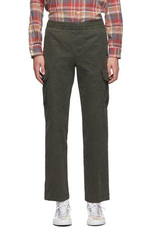 president's Green Garment-Dyed Sport Cargo Pants
