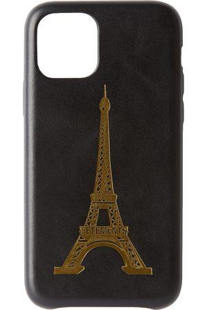 VETEMENTS Black Eiffel Tower iPhone 11 Pro Case