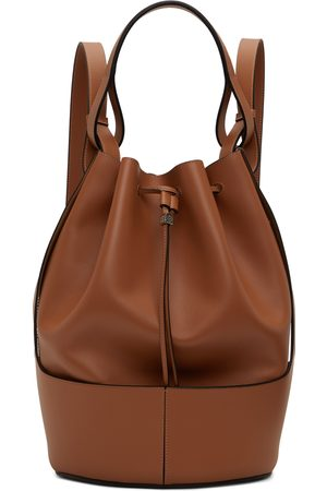 Loewe Tan Balloon Backpack