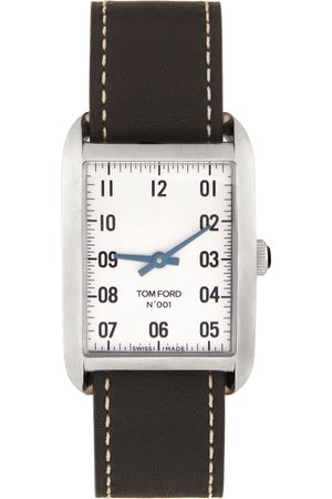 Tom Ford & Silver Leather 001 Watch
