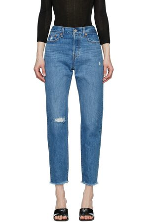 Levi's Blue Wedgie Icon Jeans