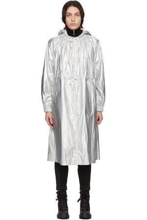 Moncler Silver Akubens Coat