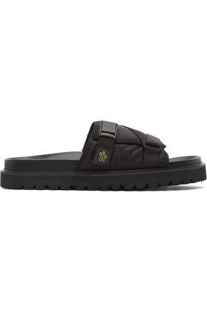Moncler Black Fabrice Sandals