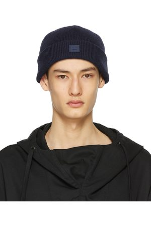 Acne Studios Wool Patch Beanie