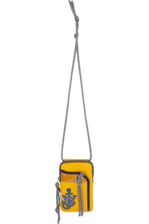 Moncler Genius 1 Moncler JW Anderson Yellow Phone Pouch