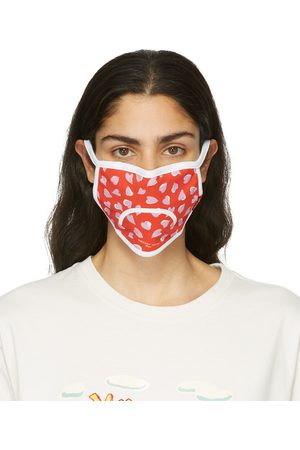 Marc Jacobs Three-Pack Multicolor Smiley Face Masks