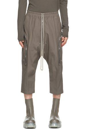 Rick Owens Grey Bauhaus Bela Trousers