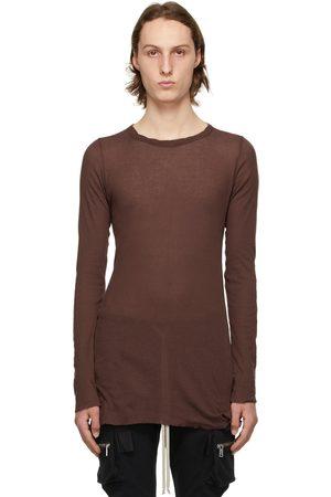 Rick Owens Red Rib Long Sleeve T-Shirt