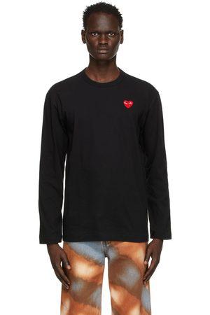 Comme des Garçons Black Heart Long Sleeve T-Shirt