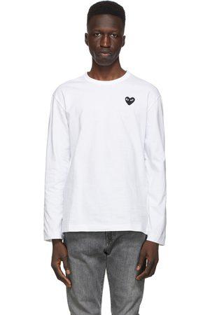 Comme des Garçons & Black Heart Long Sleeve T-Shirt