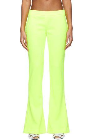 Balmain Yellow Bootcut Trousers
