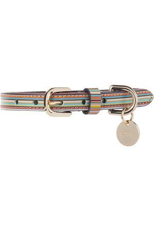 Paul Smith Multicolor Signature Stripe Collar