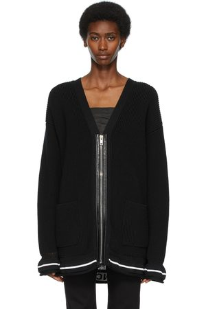 Givenchy Black Zipped Cardigan
