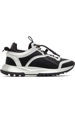 Givenchy Black & Silver Spectre Cage Runner Sneakers