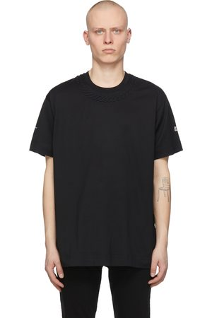 Givenchy Black Oversized Embossed Chain T-Shirt