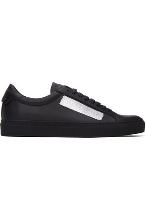 Givenchy Black Latex Urban Knot Sneakers