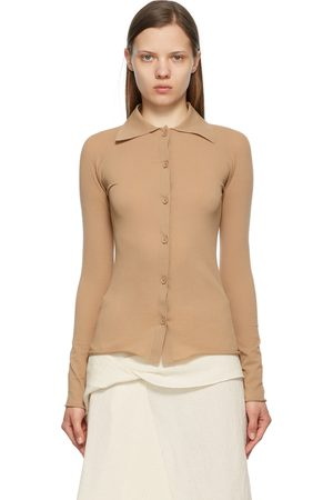 Sportmax Tan Elea Fitted Shirt