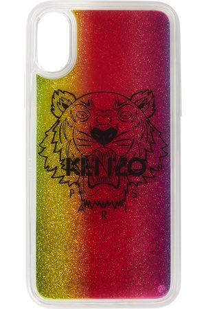 Kenzo Multicolor Glitter Tiger iPhone X/XS Case