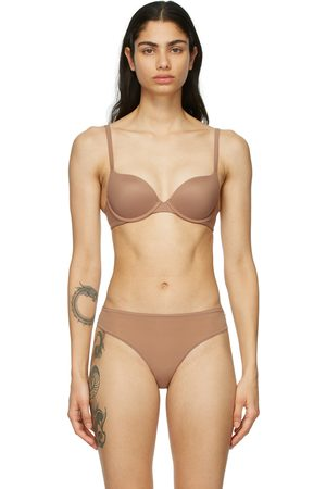 SKIMS Tan Fits Everybody Push-Up Bra
