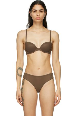 SKIMS Brown Fits Everybody Push-Up Bra