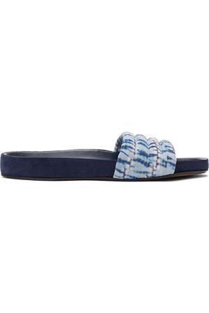 Isabel Marant Blue Helleah Sandals