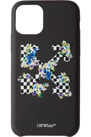 OFF-WHITE Check Floral Print iPhone 11 Pro Case