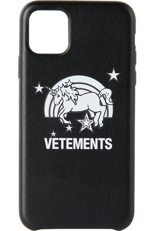 Vetements Black Unicorn iPhone 11 Pro Max Case