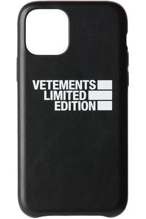 Vetements Black 'Limited Edition' Logo iPhone 11 Pro Case