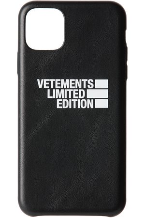 Vetements Black 'Limited Edition' Logo iPhone 11 Pro Max Case