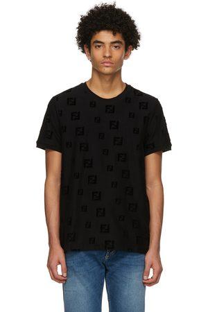 Fendi Black 'Forever ' T-Shirt