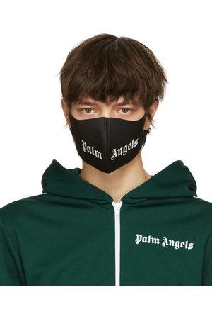 Palm Angels Black Logo Mask