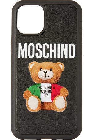 Moschino Black Italian Teddy Bear iPhone 11 Pro Case