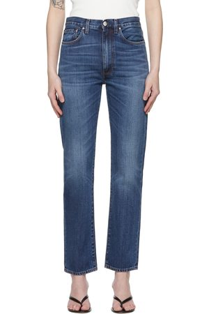 Totême Blue Regular Fit Jeans