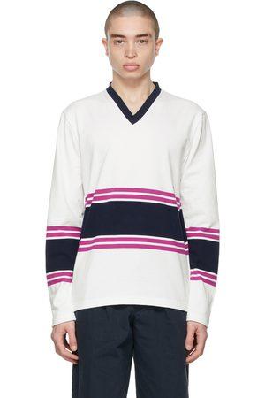 Noah NYC Football Jersey Long Sleeve T-Shirt