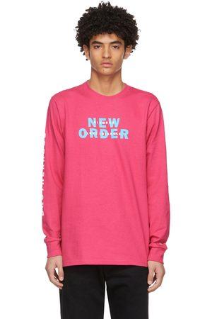 Noah NYC Pink New Order Edition 'Bizarre Love Triangle' Long Sleeve T-Shirt