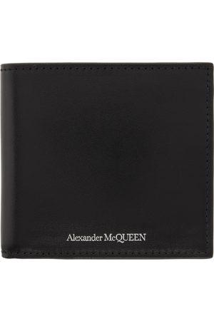 Alexander McQueen Black Logo Bifold Wallet