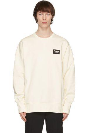 Alexander McQueen Off-White Graffiti Badge Sweatshirt