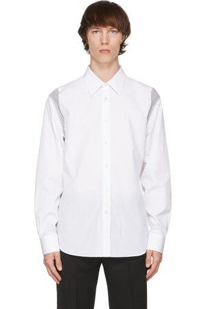 Alexander McQueen White Poplin Paneled Shirt