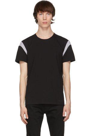 Alexander McQueen Black Paneled T-Shirt