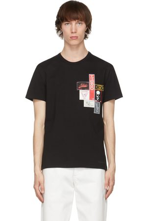 Alexander McQueen Black Mix Labels T-Shirt