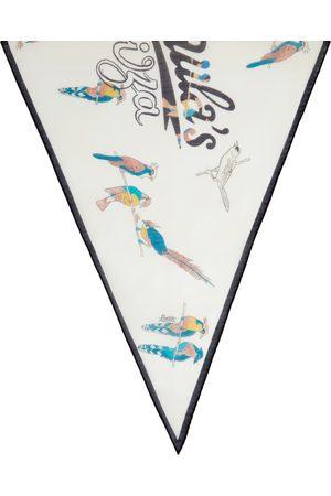 Loewe Off-White Paula's Ibiza Parrot Scarf