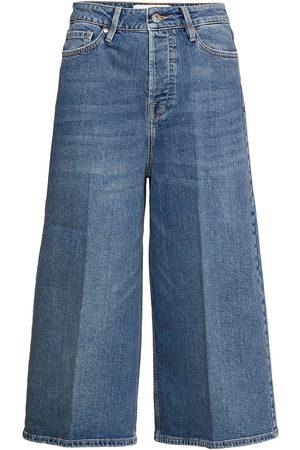 Tomorrow Kvinder Culottes bukser - Mandela Culotte Hong Kong Vide Jeans