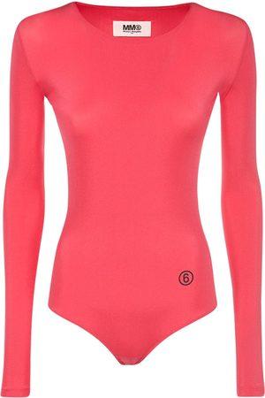 MM6 MAISON MARGIELA Logo Tech Bodysuit