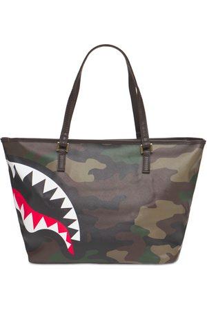 Sprayground Mænd Stofposer - Check & Camouflage Tote Bag