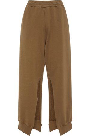 MM6 MAISON MARGIELA Kvinder Joggingbukser - Cotton Jersey Sweatpants