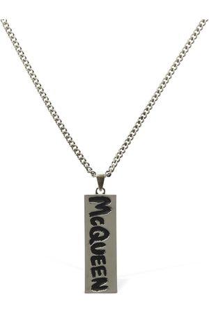 Alexander McQueen Mcqueen Graffiti Necklace